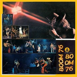 Various Artists (Concept albums & Themed compilations) Boom Festival '76 album cover