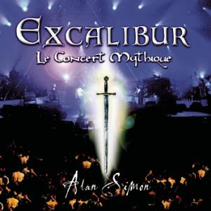 Various Artists (Concept albums & Themed compilations) Excalibur: Le Concert Mythique album cover