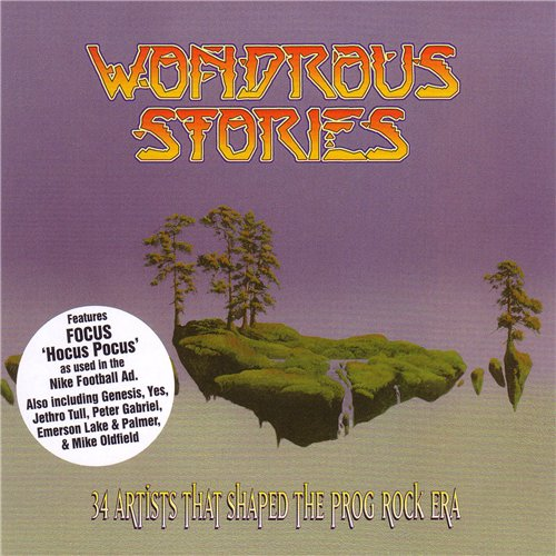 Various Artists (Concept albums & Themed compilations) - Wondrous Stories CD (album) cover