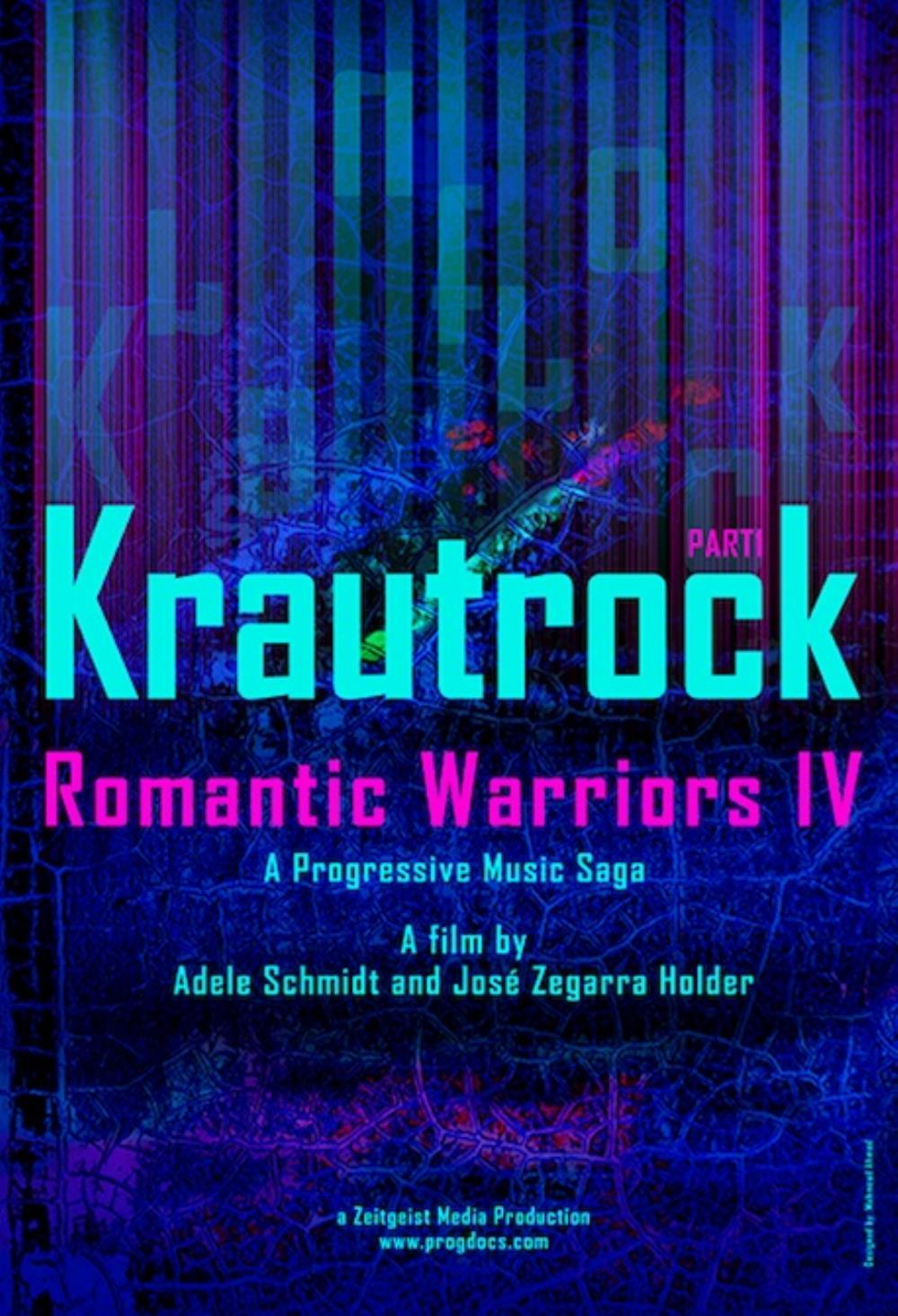 Various Artists (Concept albums & Themed compilations) - Romantic Warriors IV: Krautrock, Part I CD (album) cover