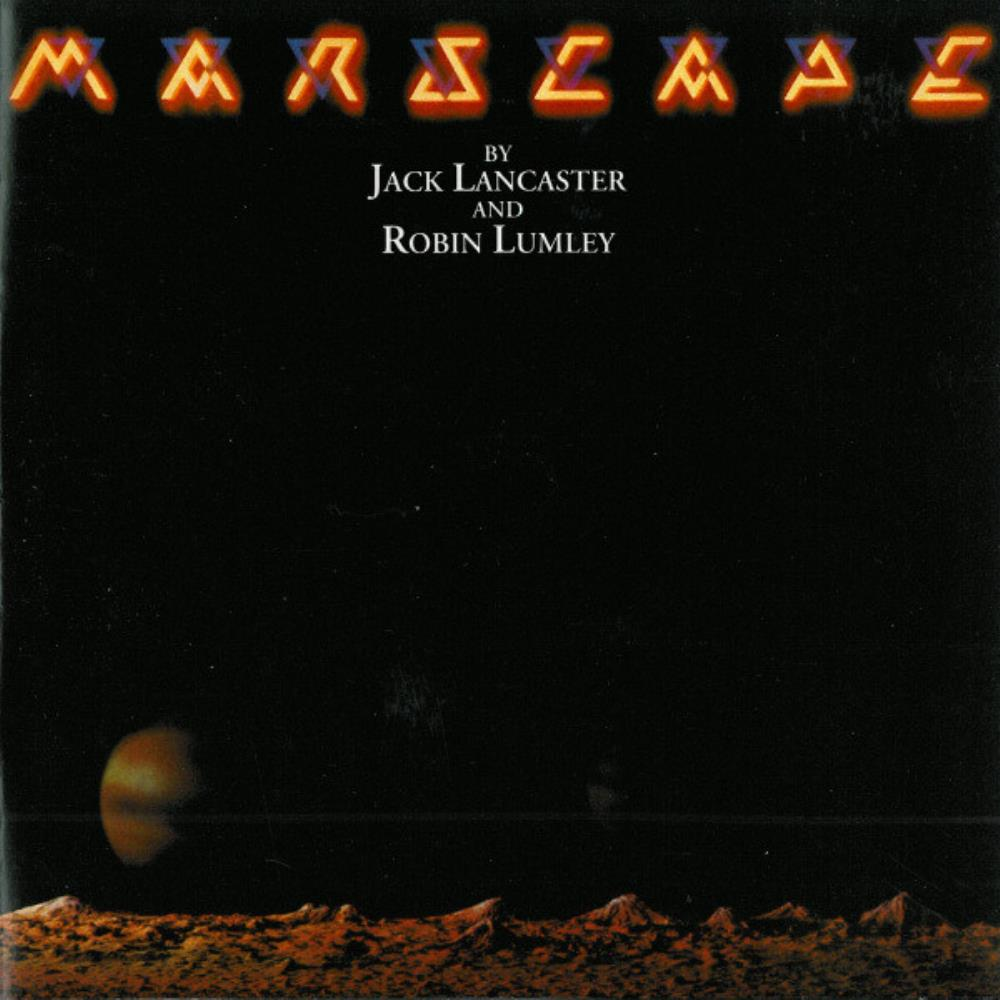 Marscape by VARIOUS ARTISTS (CONCEPT ALBUMS & THEMED COMPILATIONS) album cover