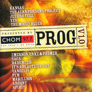 Various Artists (Concept albums & Themed compilations) Prog V1.0: Presented by CHOM 97.7 album cover