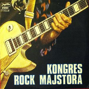 Various Artists (Concept albums & Themed compilations) Kongres Rock Majstora album cover