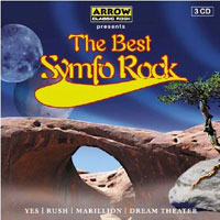 Various Artists (Concept albums & Themed compilations) The Best Symfo Rock album cover