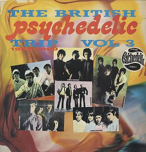 Various Artists (Concept albums & Themed compilations) The British Psychedelic Trip Vol. 3 album cover