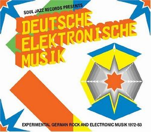 Deutsche Elektronische Musik: Experimental German Rock And Electronic Musik 1972-83 by VARIOUS ARTISTS (CONCEPT ALBUMS & THEMED COMPILATIONS) album cover