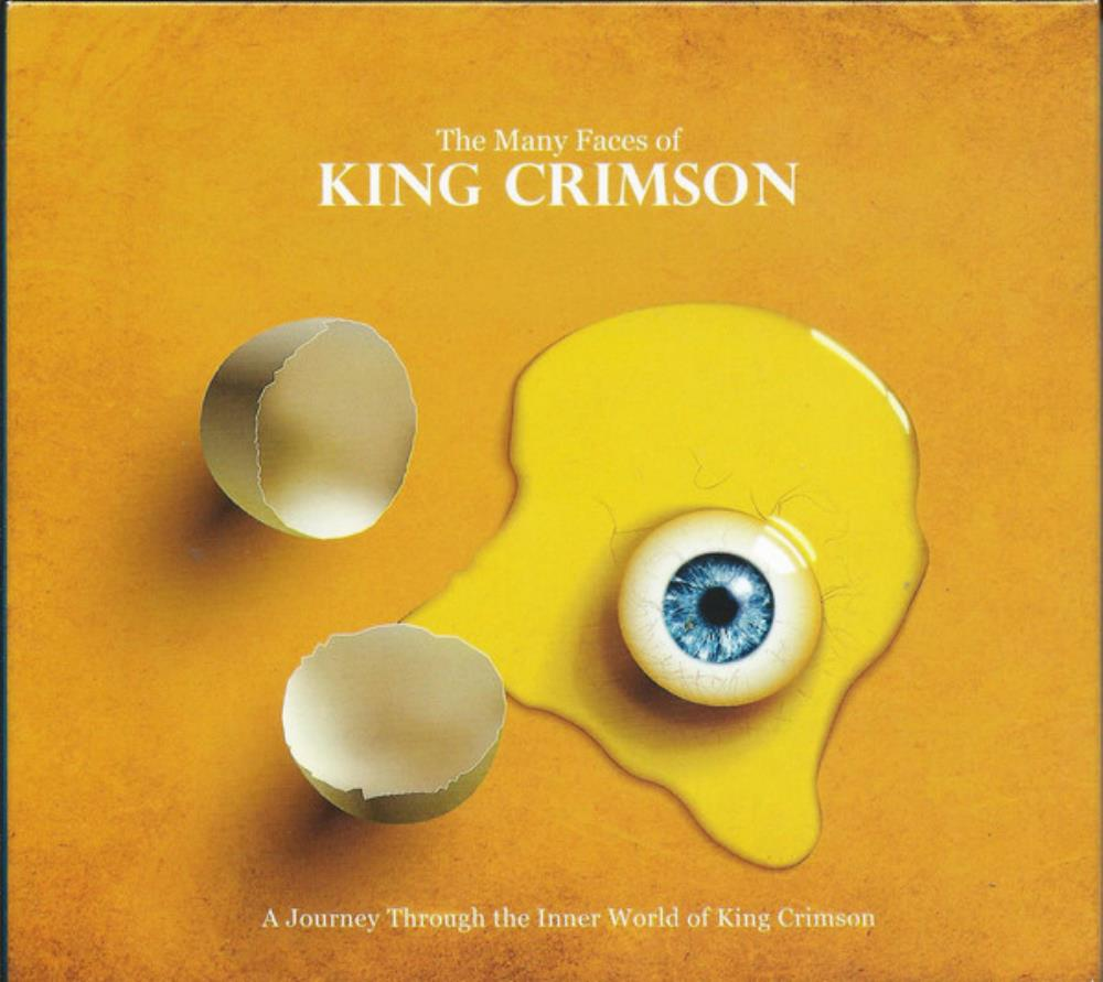 The Many Faces of King Crimson: A Journey Through the Inner World of King Crimson by VARIOUS ARTISTS (CONCEPT ALBUMS & THEMED COMPILATIONS) album cover