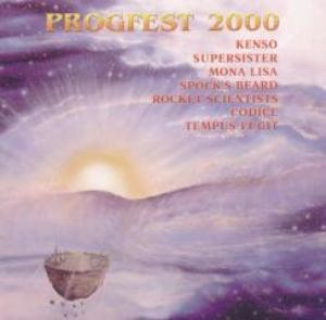 Various Artists (Concept albums & Themed compilations) Progfest 2000 album cover