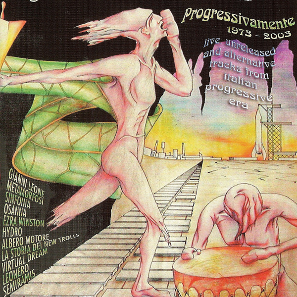 Various Artists (Concept albums & Themed compilations) Progressivamente 1973 - 2003 album cover