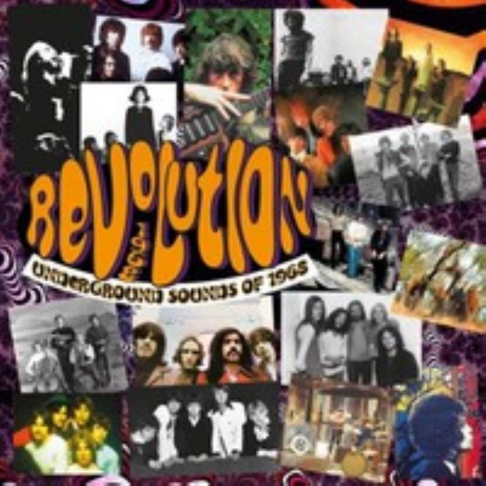 Various Artists (Concept albums & Themed compilations) Revolution: Underground Sounds of 1968 album cover