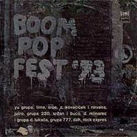 Various Artists (Concept albums & Themed compilations) - Boom Pop Fest '73 CD (album) cover
