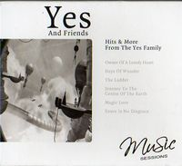 Various Artists (Concept albums & Themed compilations) Yes And Friends: Hits & More From The Yes Family album cover