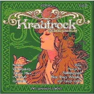 Various Artists (Concept albums & Themed compilations) Krautrock - Music For Your Brain Vol. 3 album cover
