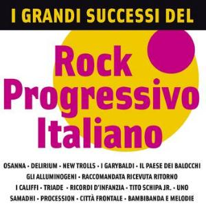 Various Artists (Concept albums & Themed compilations) - I Grandi Successi Del Rock Progressivo Italiano CD (album) cover
