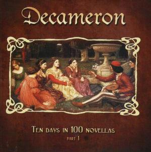 Various Artists (Concept albums & Themed compilations) - Decameron: Ten Days in 100 Novellas (Part 1) CD (album) cover