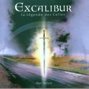Various Artists (Concept albums & Themed compilations) - Excalibur: La Legende Des Celtes CD (album) cover