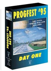 Various Artists (Concept albums & Themed compilations) Progfest '95 Day One album cover