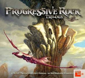 Various Artists (Concept albums & Themed compilations) Progressive Rock Trilogy album cover