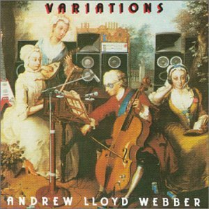 Various Artists (Concept albums & Themed compilations) - Andrew Lloyd Webber - Variations CD (album) cover