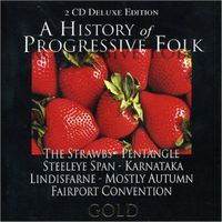 Various Artists (Concept albums & Themed compilations) A History of Progressive Folk album cover