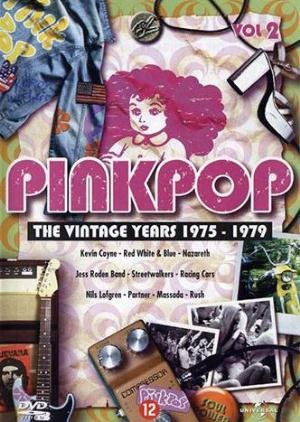 Various Artists (Concept albums & Themed compilations) Pinkpop - The Vintage Years 1975-1979, Vol. 2 album cover