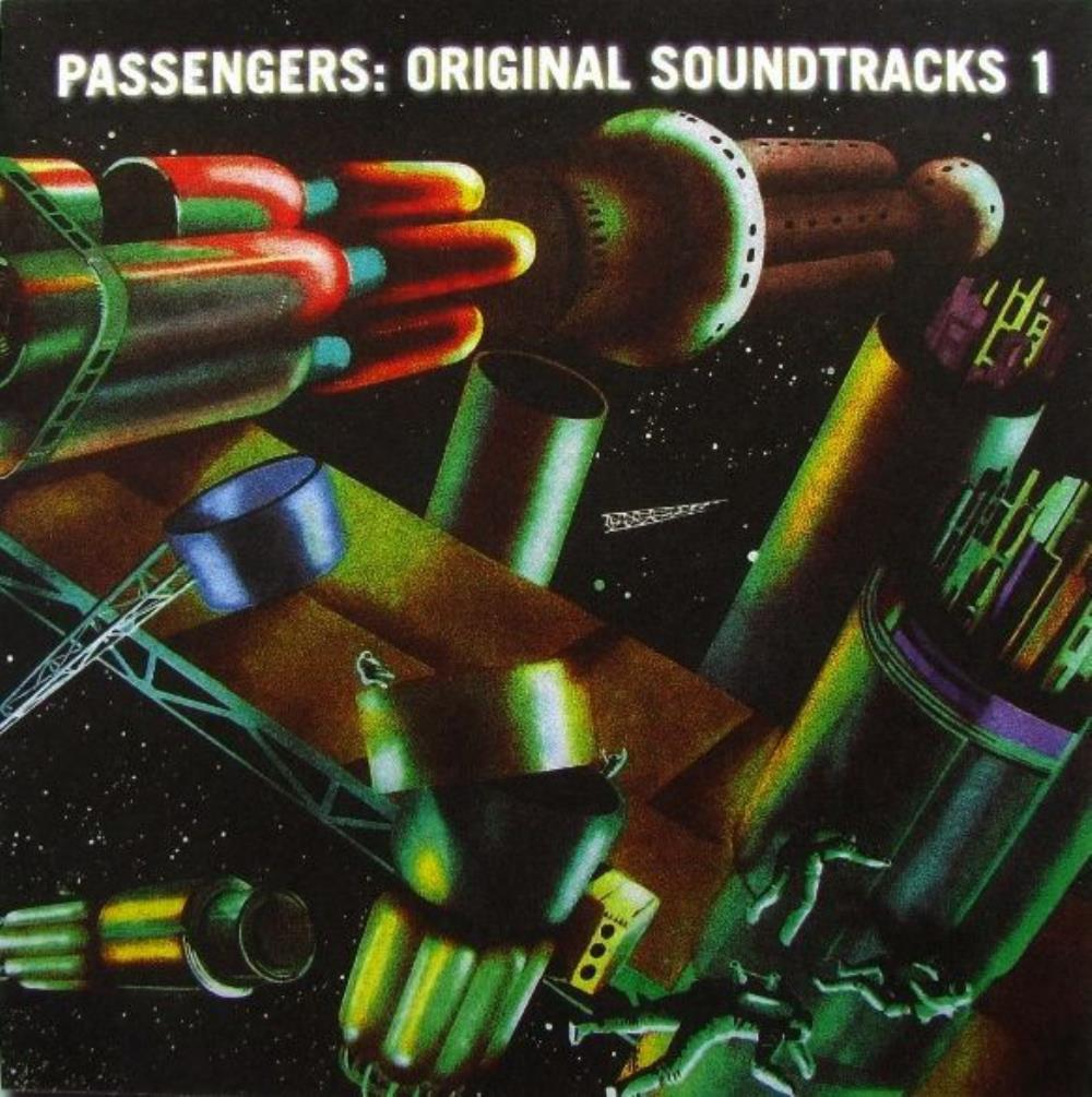 Various Artists (Concept albums & Themed compilations) - Brian Eno & U2: Passengers - Original Soundtracks 1 (OST) CD (album) cover