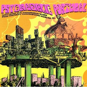 Various Artists (Concept albums & Themed compilations) Psychedelic Portugal - Hard Psych and Progressive Sounds from Portugal Underground Scene 1968-1974 album cover