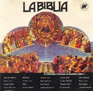 Various Artists (Concept albums & Themed compilations) - La Biblia CD (album) cover