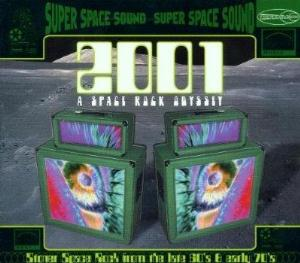 Various Artists (Concept albums & Themed compilations) - 2001: A Space Rock Odyssey CD (album) cover