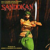 Various Artists (Concept albums & Themed compilations) Sandokan (O.S.T.) album cover