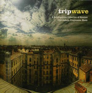 Various Artists (Concept albums & Themed compilations) Trip Wave  - A Retrospective Collection Of Russian Psychedelic Progressive Music album cover