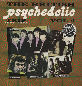 Various Artists (Concept albums & Themed compilations) The British Psychedelic Trip Vol. 4 album cover