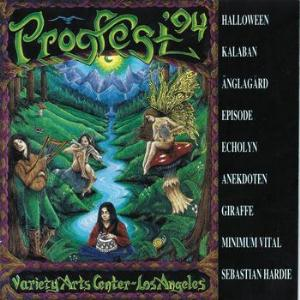 Various Artists (Concept albums & Themed compilations) Progfest '94 album cover