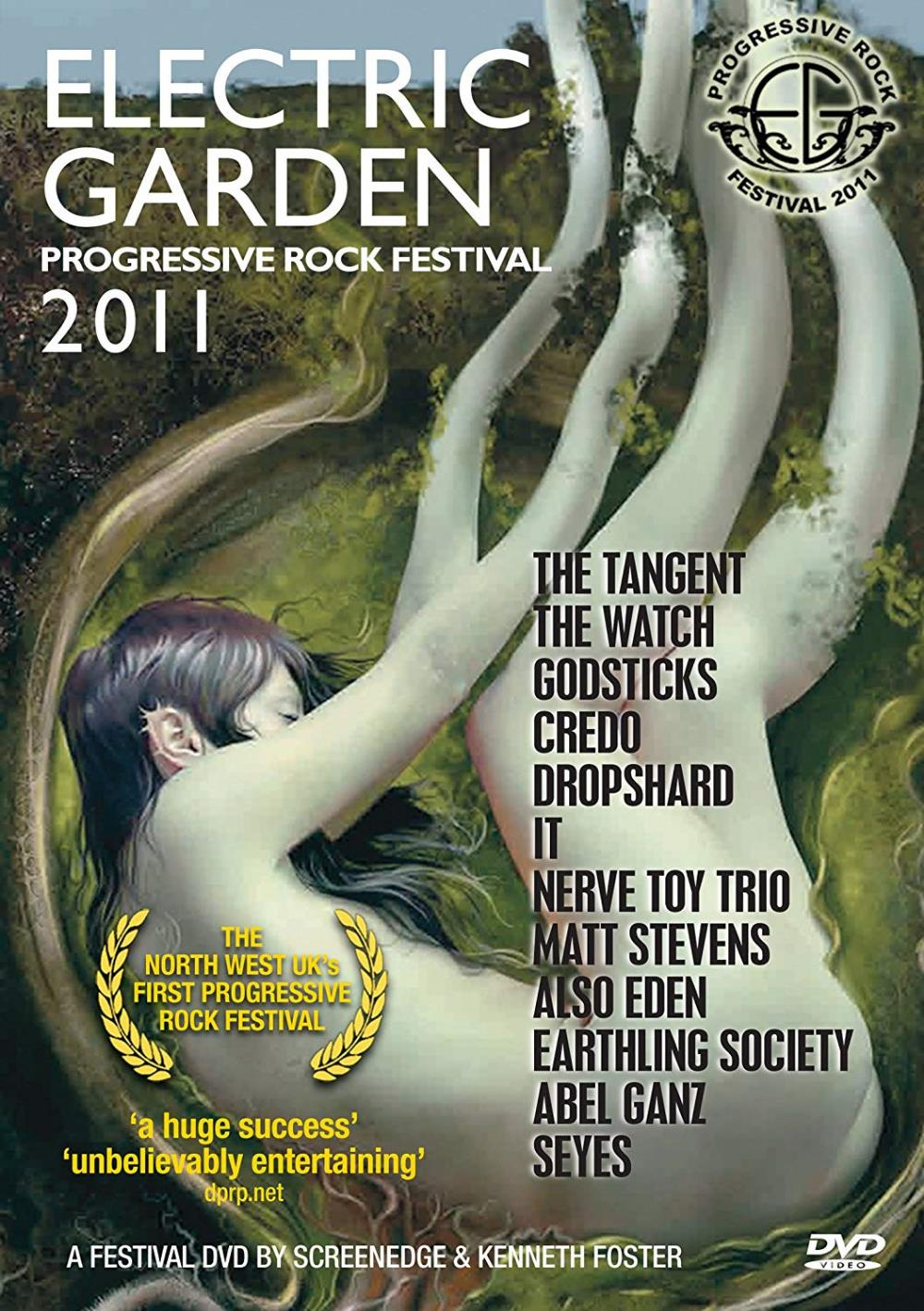 Various Artists (Concept albums & Themed compilations) Electric Garden Progressive Rock Festival 2011 album cover