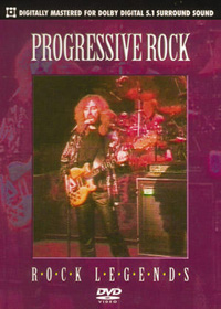 Various Artists (Concept albums & Themed compilations) Rock Legends: Progressive Rock album cover