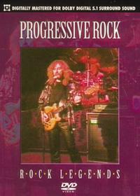 Rock Legends: Progressive Rock by VARIOUS ARTISTS (CONCEPT ALBUMS & THEMED COMPILATIONS) album cover