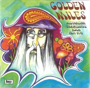 Various Artists (Concept albums & Themed compilations) - Golden Miles: Australian Progressive Rock 1969-1974 CD (album) cover