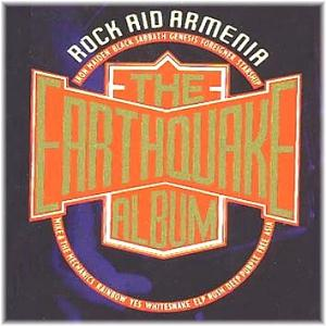 Various Artists (Concept albums & Themed compilations) Rock Aid Armenia - The Earthquake Album album cover