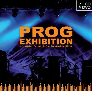 Various Artists (Concept albums & Themed compilations) Prog Exhibition - 40 anni di musica immaginifica (RPI) (7CD + 4DVD) album cover