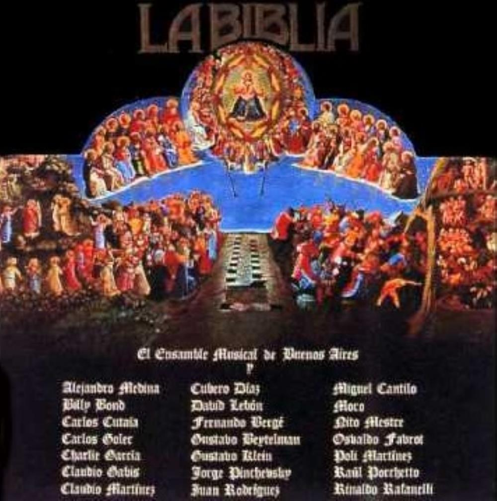 La Biblia by VARIOUS ARTISTS (CONCEPT ALBUMS & THEMED COMPILATIONS) album cover