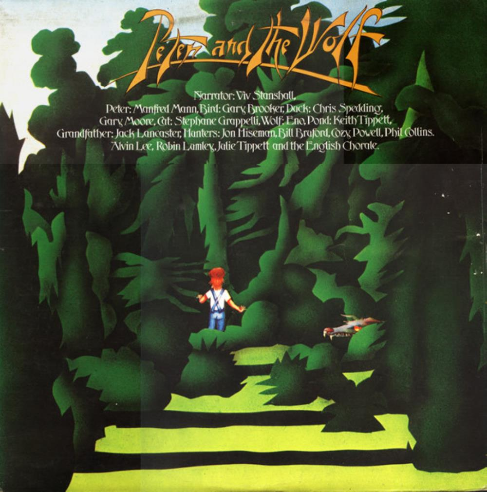 Various Artists (Concept albums & Themed compilations) - Peter And The Wolf CD (album) cover