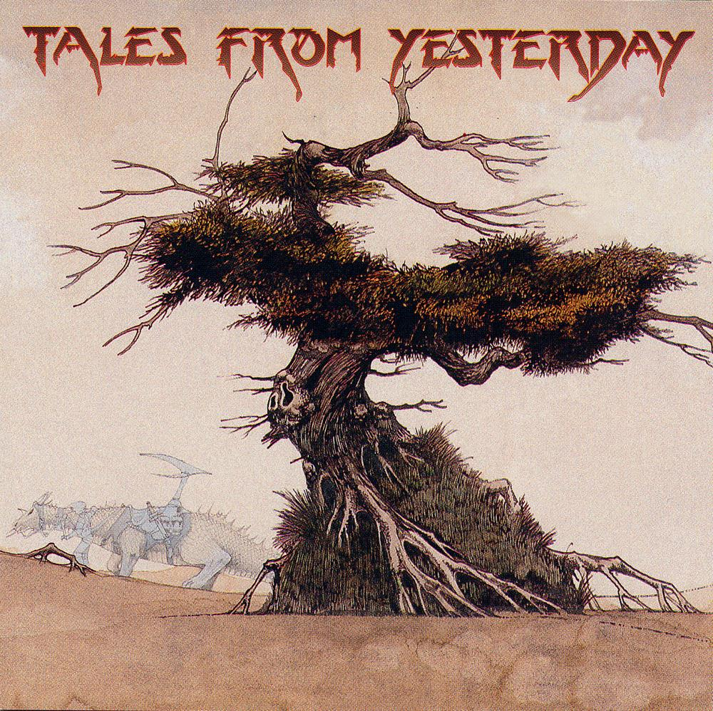 Various Artists (Tributes) Tales From Yesterday: A View From The South Side Of The Sky (Yes tribute) album cover