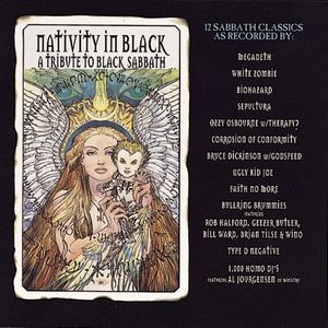 Various Artists (Tributes) - Nativity In Black - A Tribute To Black Sabbath CD (album) cover
