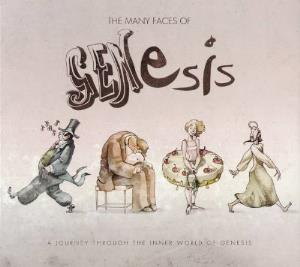 Various Artists (Tributes) The Many Faces Of Genesis - A Journey Through The Inner World Of Genesis album cover