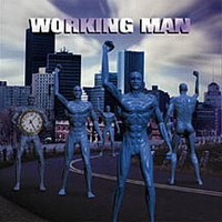 Various Artists (Tributes) - Working Man (A tribute to Rush) CD (album) cover