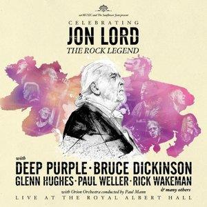 Various Artists (Tributes) Celebrating Jon Lord: The Rock Legend album cover