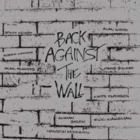 Back Against The Wall (Pink Floyd) by VARIOUS ARTISTS (TRIBUTES) album cover
