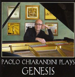 Various Artists (Tributes) Paolo Chiarandini Plays Genesis album cover