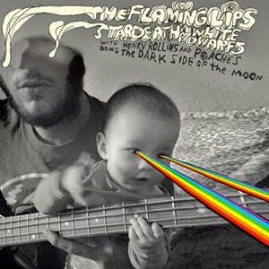 Various Artists (Tributes) The Flaming Lips and Stardeath and White Dwarfs With Henry Rollins and Peaches Doing The Dark Side of the Moon album cover