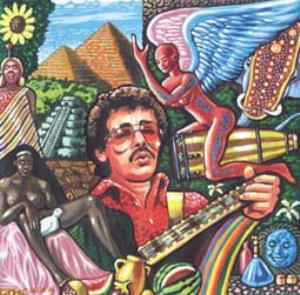 Various Artists (Tributes) Guitars Dancing in the Light (A Tribute to Santana) album cover